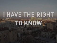 I Have the Right to Know